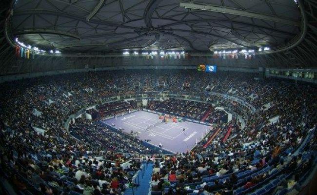 Shanghai S Magnolia Qi Zhong Stadium China Tennis