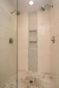 vertical shower accent tile ideas - Google Search   Master ...