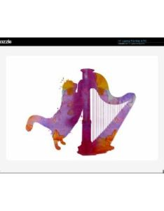 Cat and harp acrylic wall art toddler youngster infant child kid  idea design diy also decals for laptops baby ts new born rh pinterest