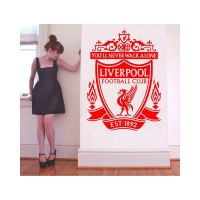 Liverpool FC wall decal from Amazon http://www.amazon.co ...