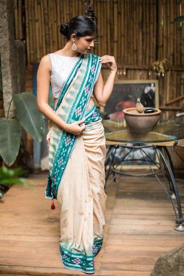 Image result for images of bollywood actress wearing Sambalpuri Saree
