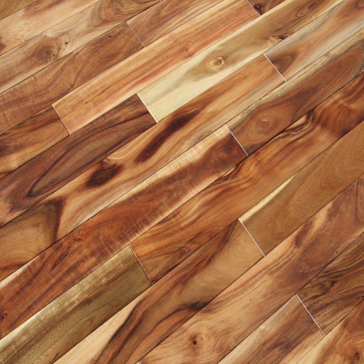 Acacia Asian Walnut Blonde Hardwood Flooring