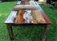 reclaimed wood dining table | design with an edge ...