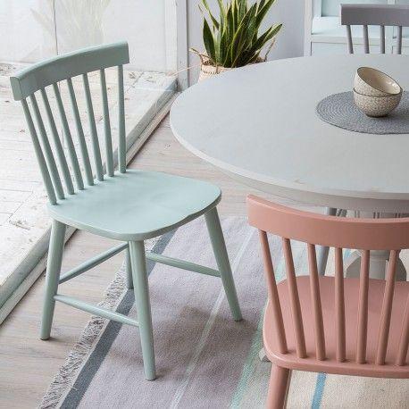Colette silla lacada verde  Home  Pinterest  Sillas de