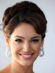 sexy and elegant formal updos