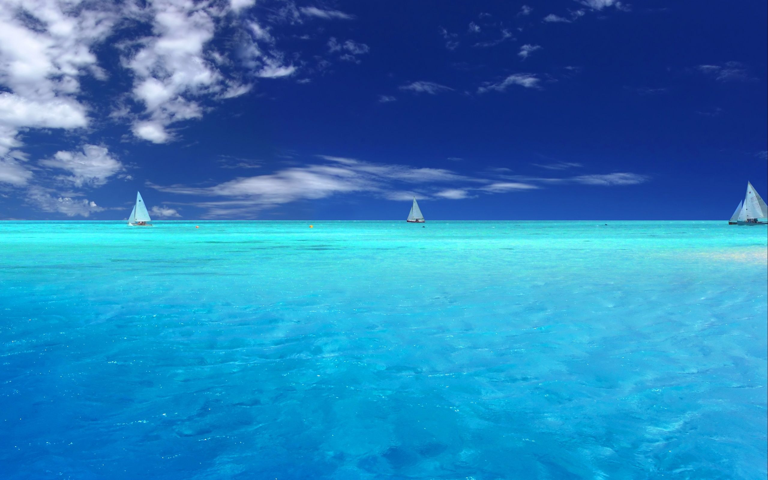 boats on clear ocean and blue sky hd wallpaper123 | 11123123