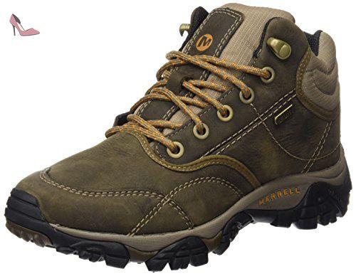 merrell moab rover mid impermeable trekking et botte de chaussure de randonnee homme