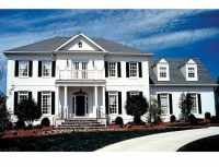 Federal Style Row House Plans
