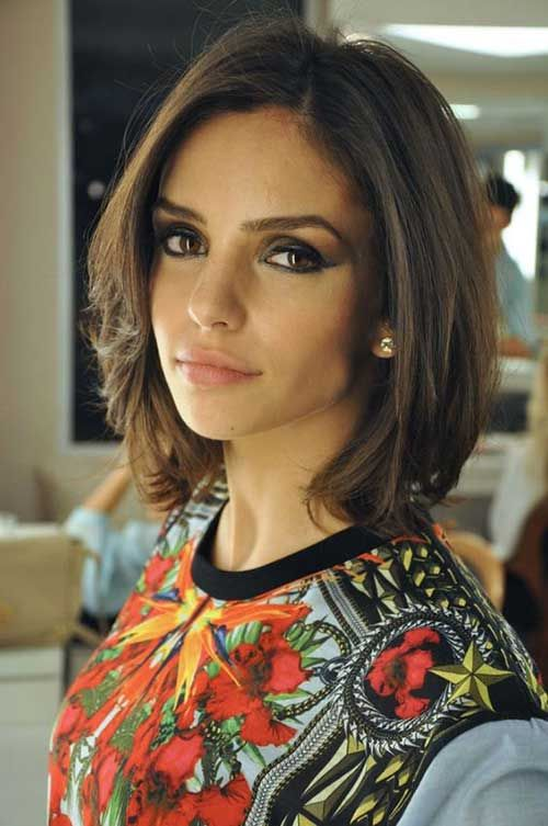 16 Brunette Bob Hairstyle 500×753 Pixels Hairstyles