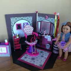 Doll Salon Chair Wedding Covers Yes Or No Homemade American Girl Hair Is From Walmart