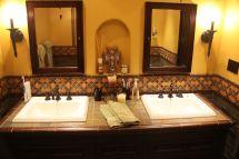 Spanish Style Tile Bathroom