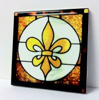 Fleur De Lis Ceramic Tiles | Tile Design Ideas