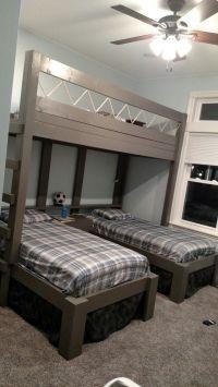 Triple bunk beds for boys | House stuff | Pinterest ...