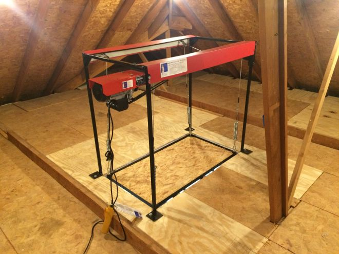 9037055600 the attic lift utilize your attic space