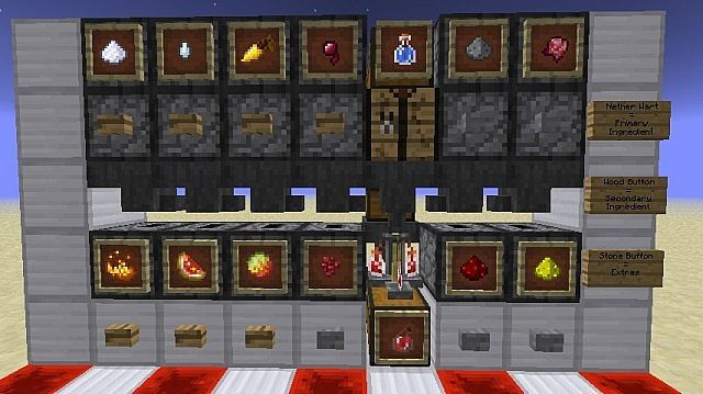 Redstone House Automatic Potion Room Minecraft Project Gaming