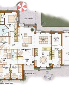 Solangen plan dream housesdesign floor plansbungalowshouse also einfamilienhaus pinterest bungalow house and rh