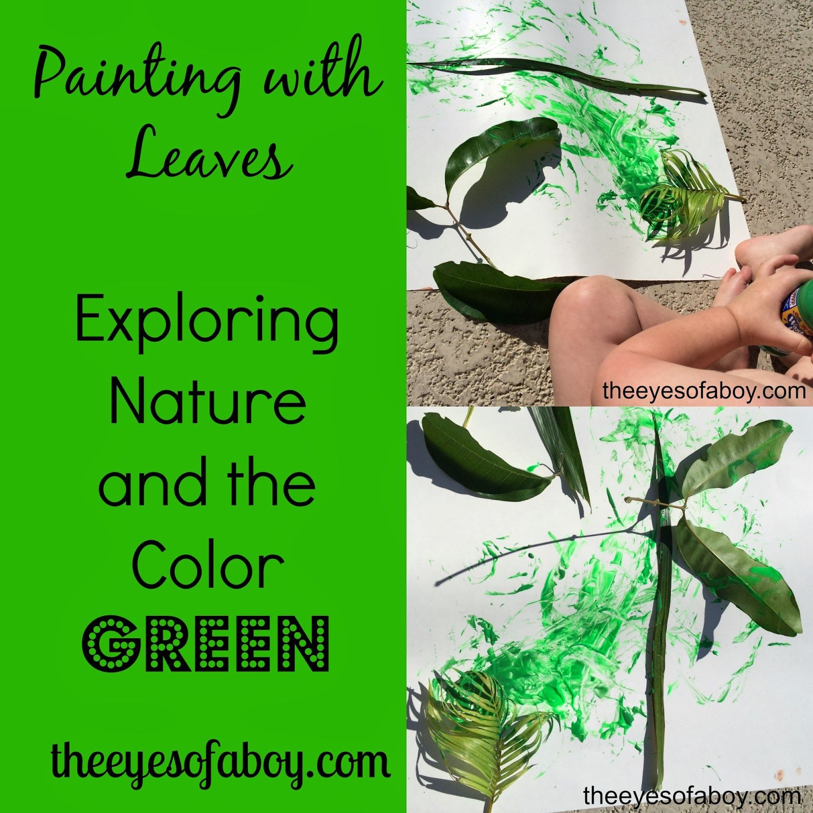 Color Green Activities For Toddlers