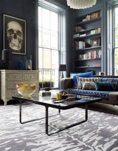 Moody blues living room furniture  designs decorating ideas contemporary decor exclusive design designer also   doing this look in my loft so excited rh pinterest
