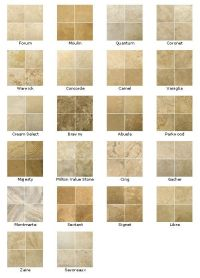 Travertine colors | kitchen floors | Pinterest ...