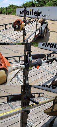 Pack'Em Trimmer Rack for Open Utility Trailers | Utility ...