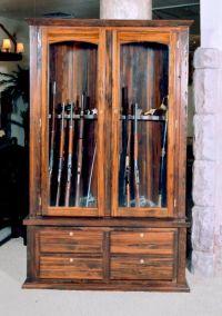 Gun Cabinet Example http://www.artfactory.com/game-room ...