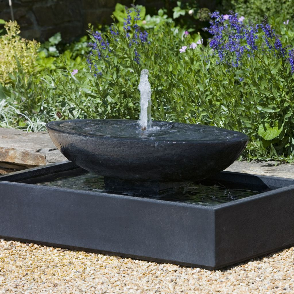 Outdoor , Extravagant Modern Outdoor Fountain for