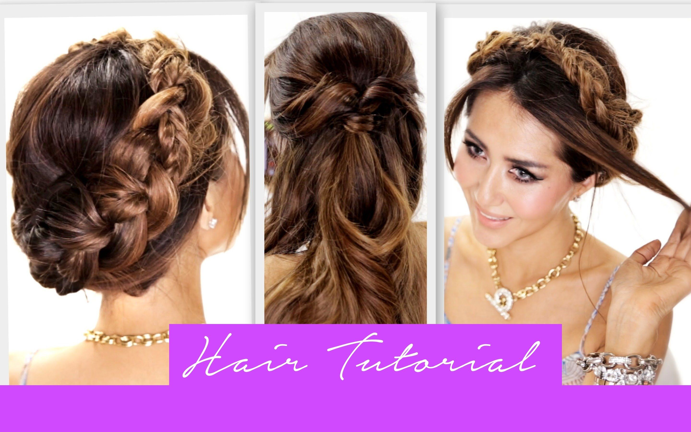Cute Braided Hairstyles Easy 3 amazingly easy back to school