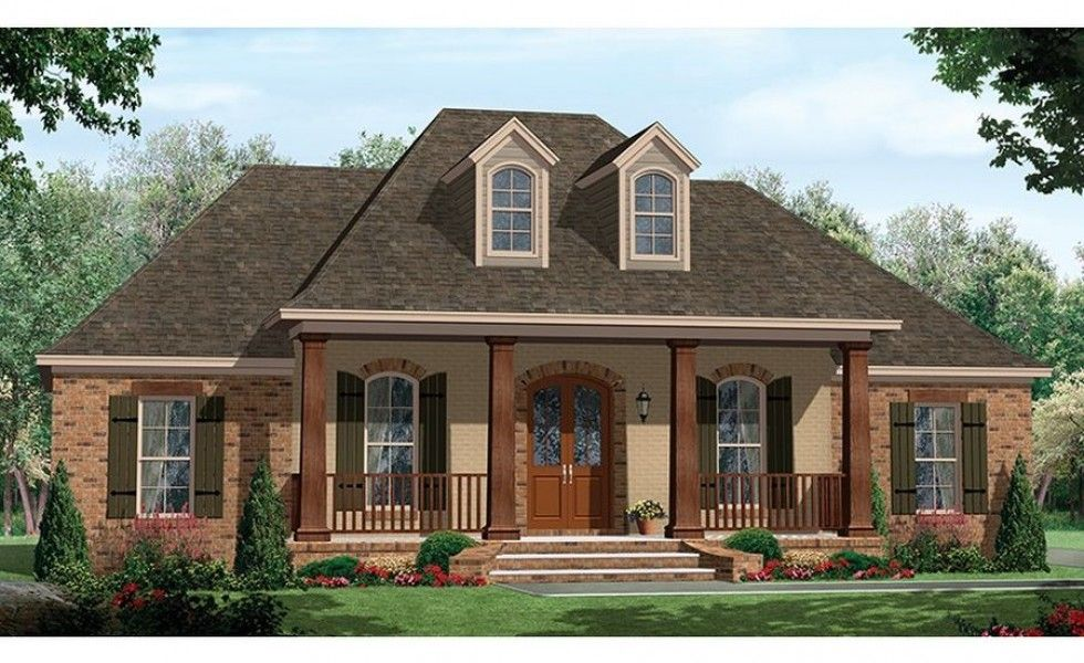 Single Story Homes With Porch