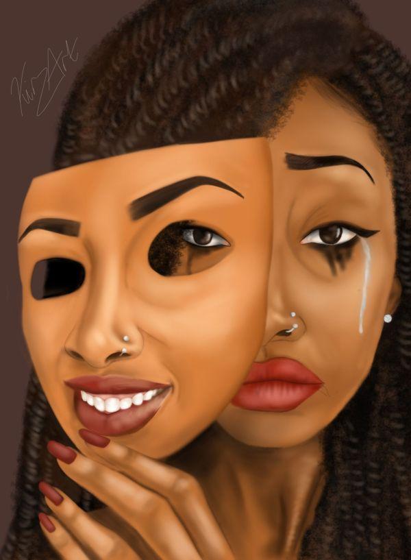 Black Women Art Resim And Woman