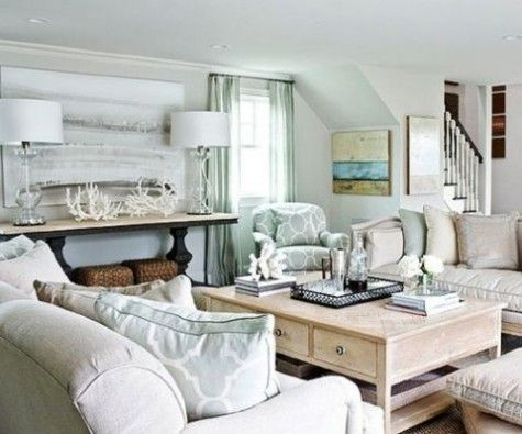 Comfydwelling blog archive beach and coastal living room decor ideas also rh pinterest