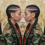 protective natural hair styles