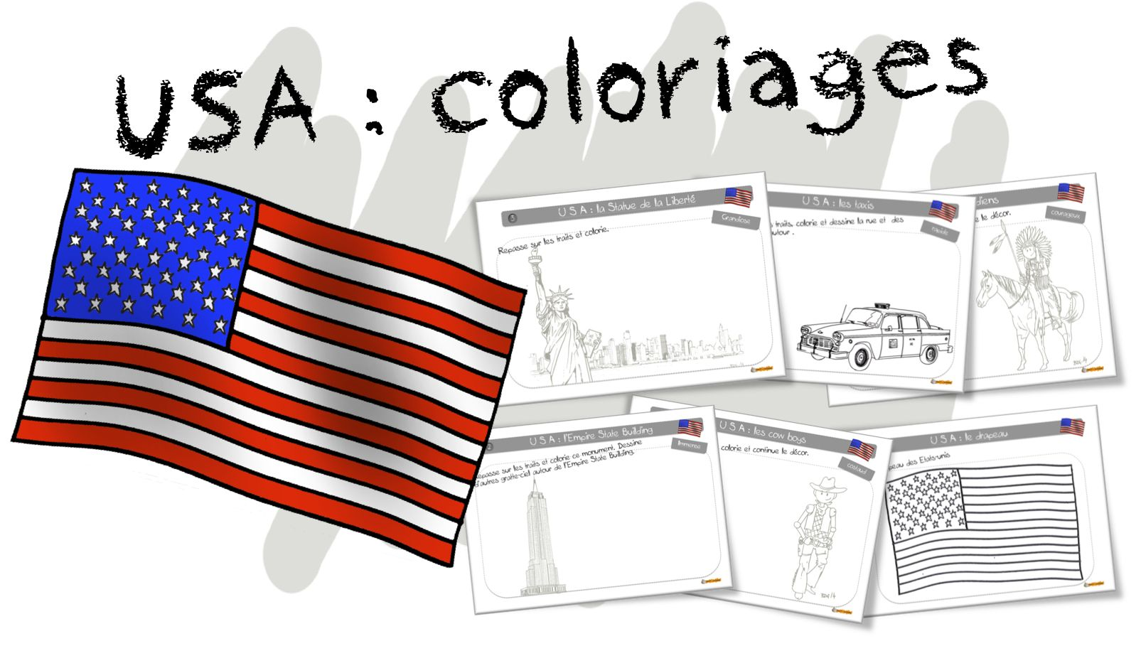 Coloriages Bdg Les Usa Et New York