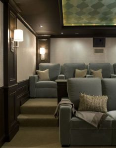 awesome home media room ideas  design amazing pictures also rh pinterest