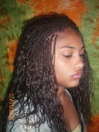 Micro braids | All about the hair | Pinterest | Hair style ...