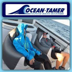 Boat Bean Bag Chairs Butterfly Chair Replacement Covers Outdoor The Crew From Under Armour Fishing Team Riding In