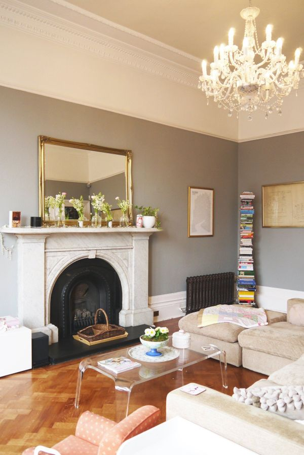Gray Wall Color Paint Living Room