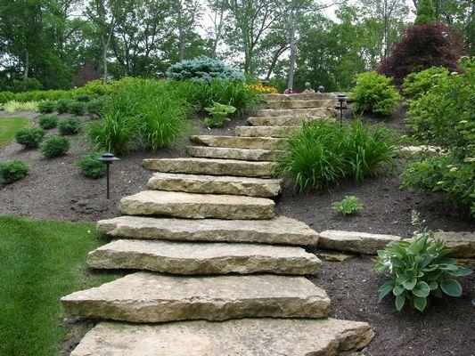 Stone Garden Steps Landscape & Maintenance Cincinnati