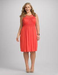 Plus Size | Dresses | Empire Waist Dresses | Plus Size ...