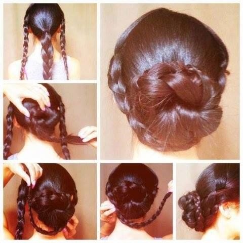 Easy Hairstyles To Do At Home Step By Step Google Search Hair