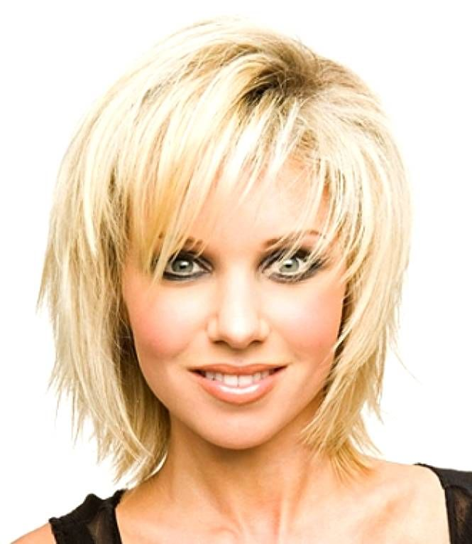 Pictures Of Short Hairstyles For Fat Faces And Double Chins Hair
