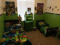 Teenage Mutant Ninja Turtles Bedroom | Ninja Turtles Room ...