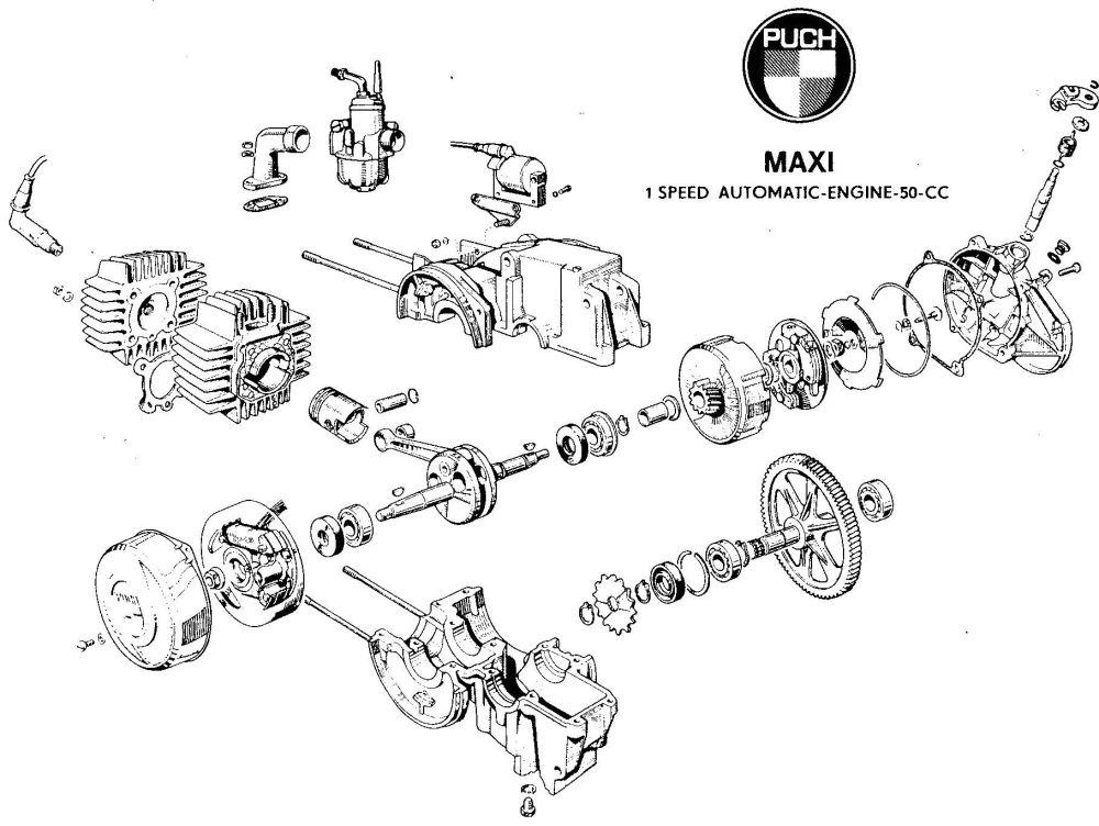 medium resolution of handy diagram of the e50 puch engine mopeds u2022 lil chopz bultaco engine tomos a35 engine diagram