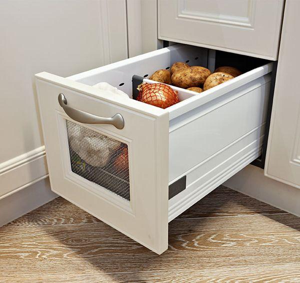 White Kitchen Cabinet Storage Drawers And Kitchen drawer