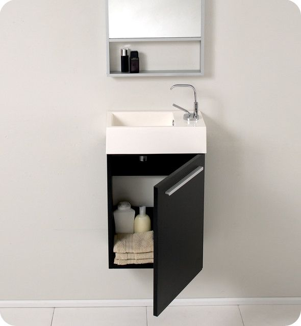Sinks with vanities for a small bathroom  Small bathrooms  Pinterest  Small bathroom Sinks