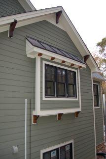 Craftsman Exterior Window Trim Ideas