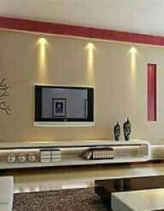 Tv wall design indian interior interiors modern walls also pin by dhrithi  on pinterest rh