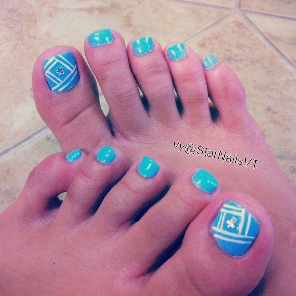 Easy Toe Nail Designs