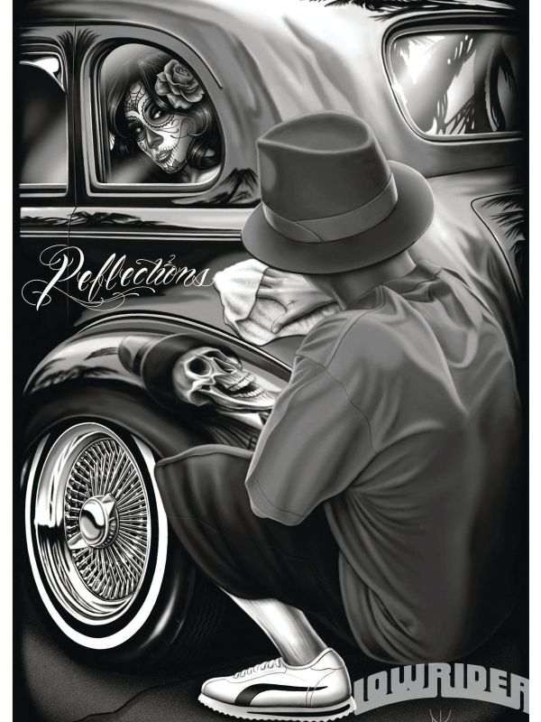 David Gonzales Lowrider Art