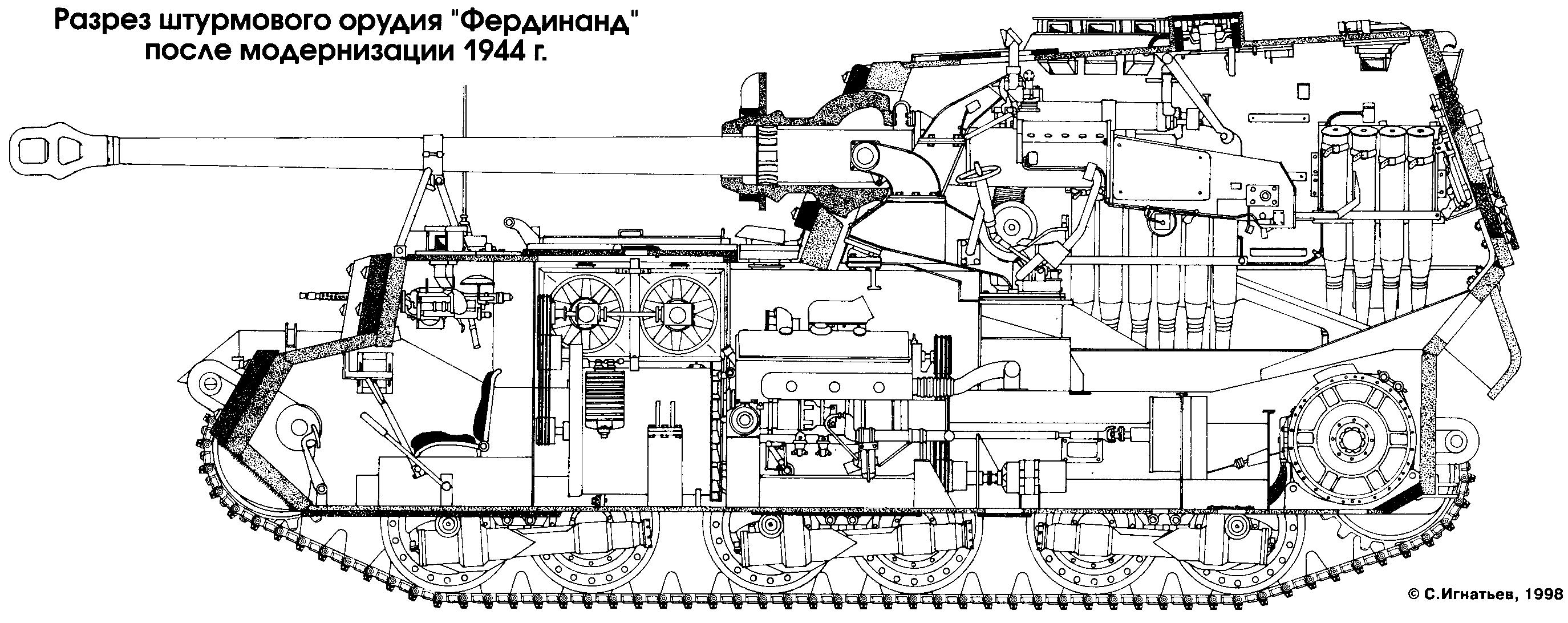 German Ww2 Tank Blueprints