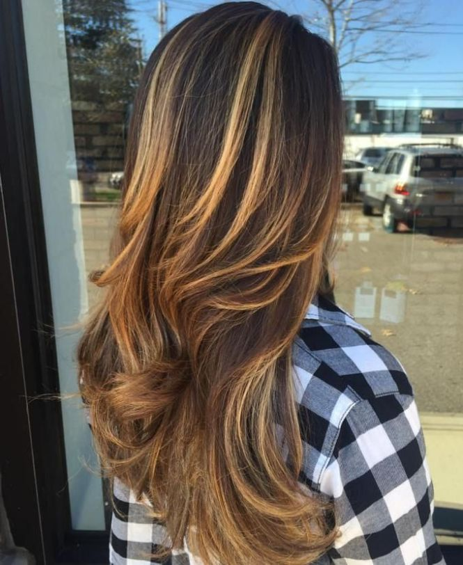 Dark brown hair with blonde and caramel highlights gallery hair dark brown hair blonde highlights pictures the best hair 2017 short dark brown hair with blonde pmusecretfo Image collections